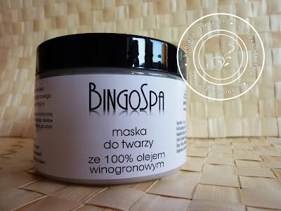 BingoSpa - maska do twarzy ze 100% olejem winogronowym