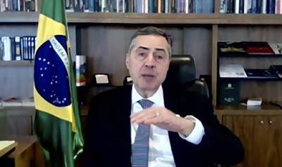 Ministro Barroso, TSE. Café com Jornalista
