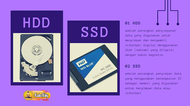 inilah perbedaan antara hdd dan ssd dari segala segi