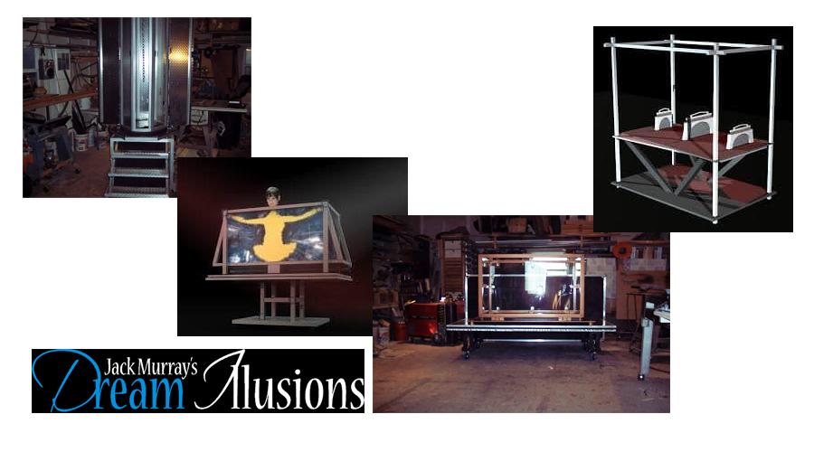 Professional Magic Trick & Illusions Builders