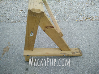 step by step pictures & info on how I built a simple, sturdy kayak rack
