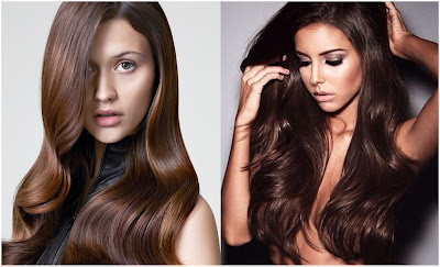 Hair Color Chocolate Brown - List of Blond and Brown Hair Color for All Skin Types