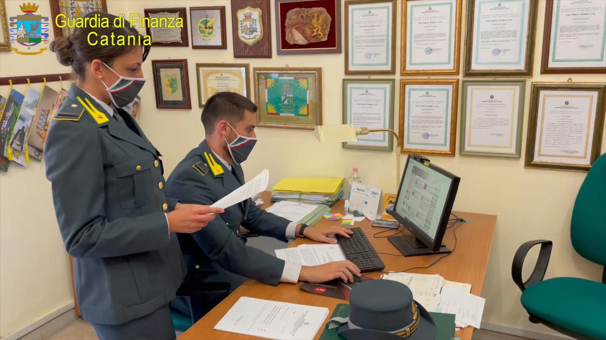 badante falso testamento patrimonio un milione di euro Guardia di Finanza Catania