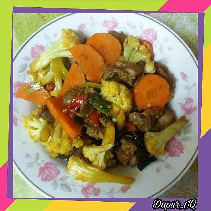 Oseng Brokoli - Ampela Ayam