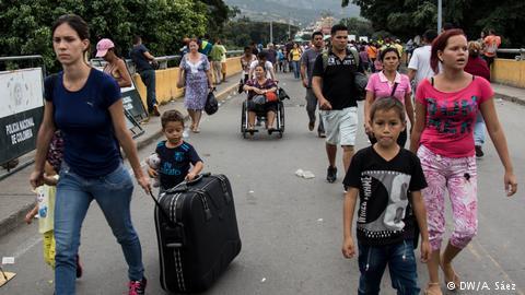 Los desplazados que caminan por América Latina