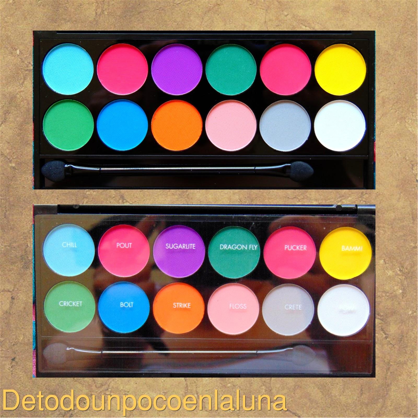 paleta ultra mattes brights de sleekmakeup