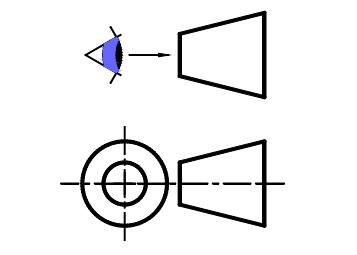 QCM-CONCOURS-GRATUITS: Exercice de dessin technique 1