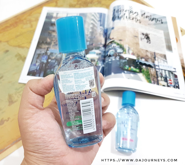 Review Senka All Clear Water Fresh