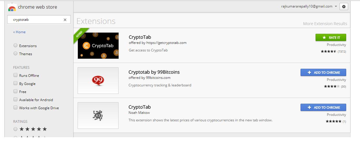 CryptoTab : Earn FREE Bitcoin Using Google Chrome