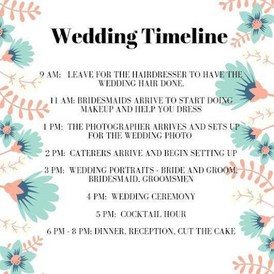 wedding timeline-wedding checklist-K'Mich Weddings Philadelphia PA-wedding-day-coordinator