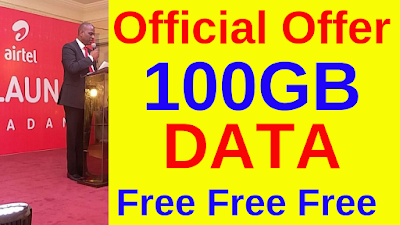 Airtel free data Official Offer September-2019