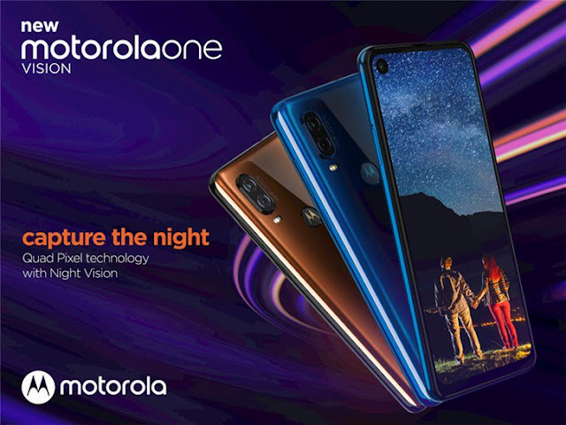 Motorola One Vision with 48MP dual-lens camera to launch in India on June 20