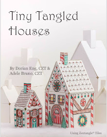 Tiny Tangled Houses - Our Holiday eBook is here!