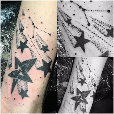 Shooting Star Tattoo