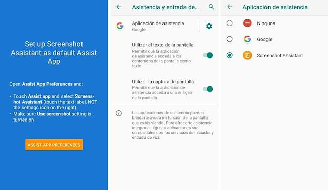 Toma capturas de pantalla fácilmente en Android con la app Screenshot Assistant