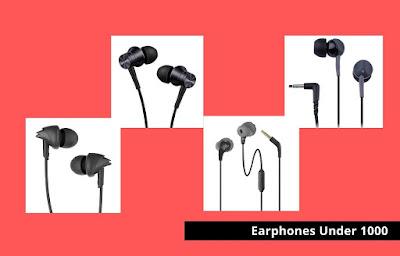 #7 Best Earphones Under 1000 in India 2021