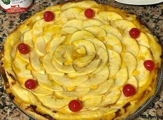 Tarta de manzana y 4 recetas.