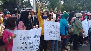 Lelah Dipungli Diduga Buntut Pedagang PTM Tuntut Kemerdekaan Beraktivitas