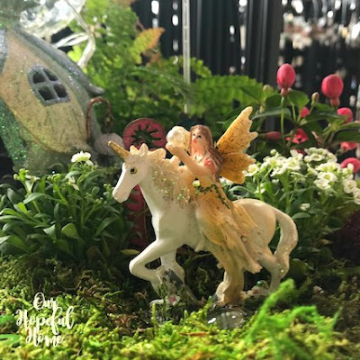 fairy unicorn garden