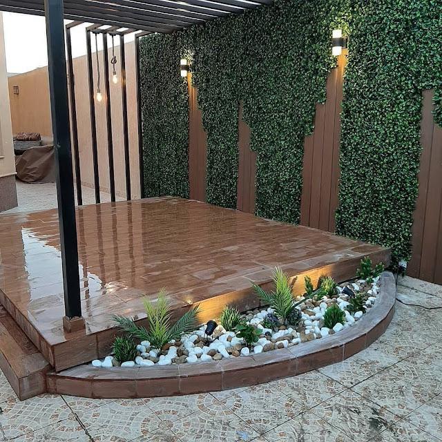 محل عشب جداري بالمدينة المنورة