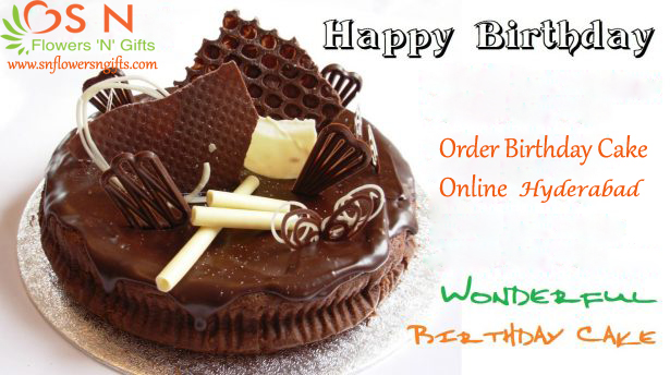 Online Cake Delivery Services In Hyderabad SN Flowers N Gifts Are The Professional Service