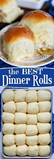 The BEST Dínner Rolls