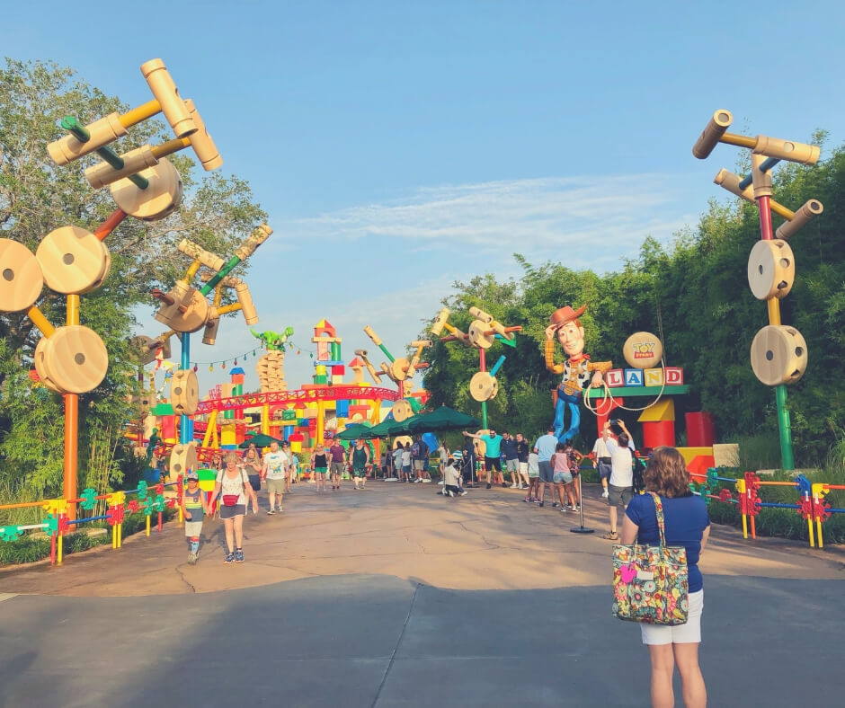 17 Must Dos For Your First Trip to Walt Disney World | Walk through Toy Story Land and you'll feel as big as a toy!