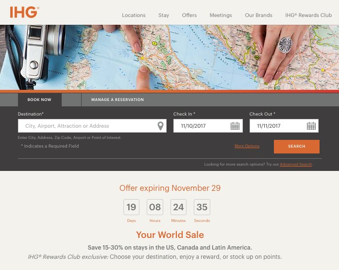 rewards canada ihg rewards club your world sale save 15