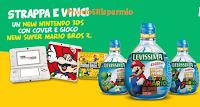 Logo Con Levissima vinci decine di Nintendo, Super Mario e 2 Wii Mario&Luigi