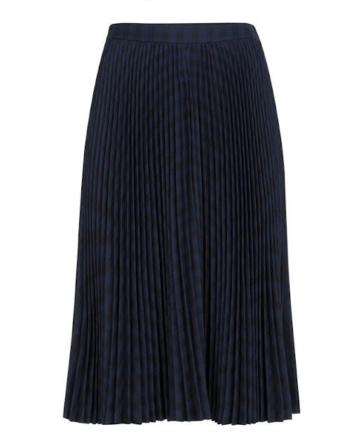 Fondo de armario rebajas FW 2015-2016 falda negra midi