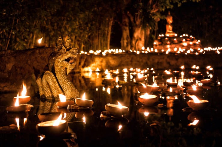 26. Makha Bucha, Chiang Mai, Thailand - 29 Colorful Festivals and Celebrations Around the World
