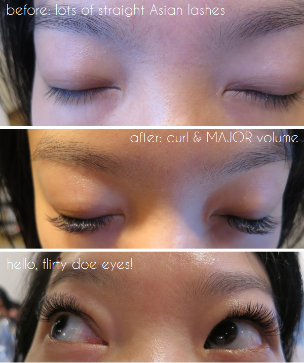 Russian Volume lash extensions