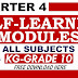 4th Quarter Self-Learning Modules ALL GRADE LEVELS All Subjects