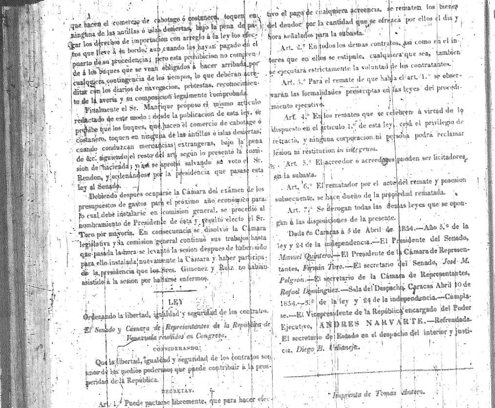 Ley de abril 1834 yahoo dating 1