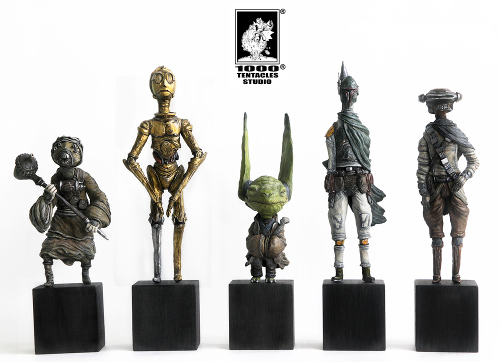 """e619d8c2 Star Wars-inspired """"SW_03 Series"""" from 1000Tentacles"""