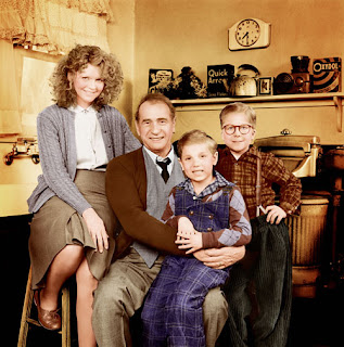 The Parker family of A Christmas Story
