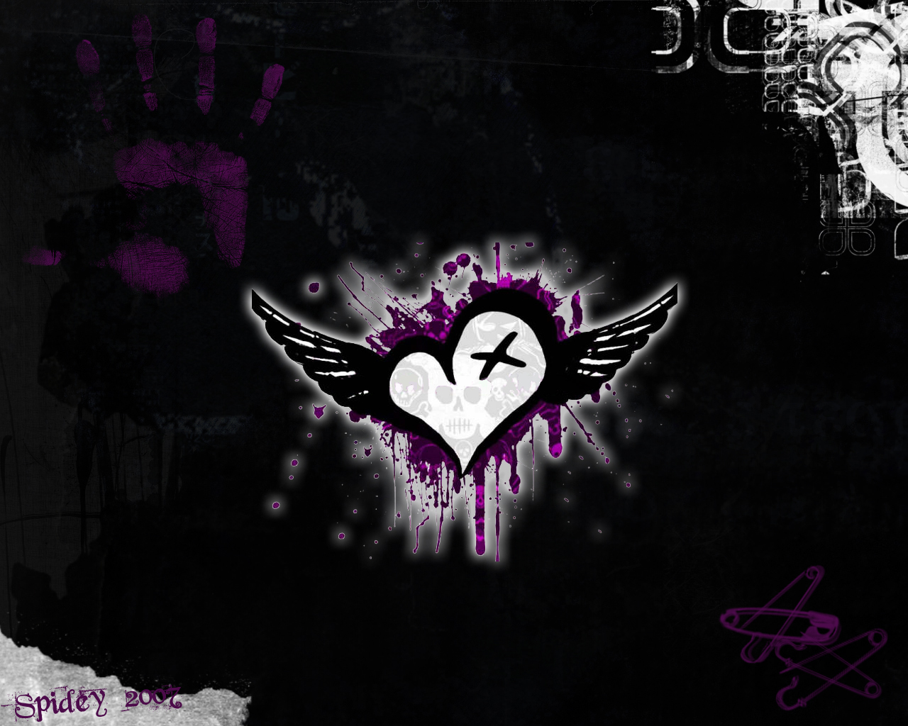 Hd Wallpaper Emo Love couple : See To World: 07/27/11