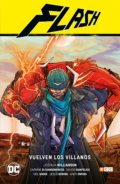 Flash de Joshua Williamson vol. 3 Vuelven los Villanos, ECC Ediciones.