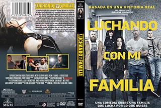 Fighting with My Family - Luchando con mi familia - Cover -