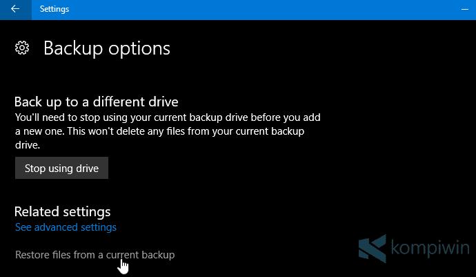 cara backup file dengan cepat dan mudah