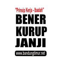 kata mutiara, prinsip kerja orang iman, bener-kurup-janji