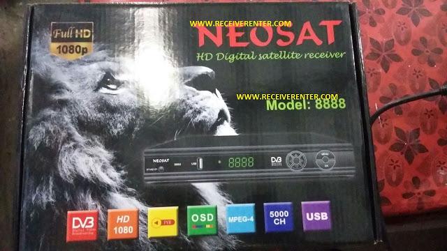 NEOSAT MODEL 8888 HD RECEIVER HBO OK SOFTWARE
