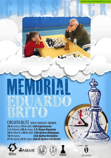 Los clubes de ajedrez de toda la isla se unen para celebrar un memorial a Eduardo Brito
