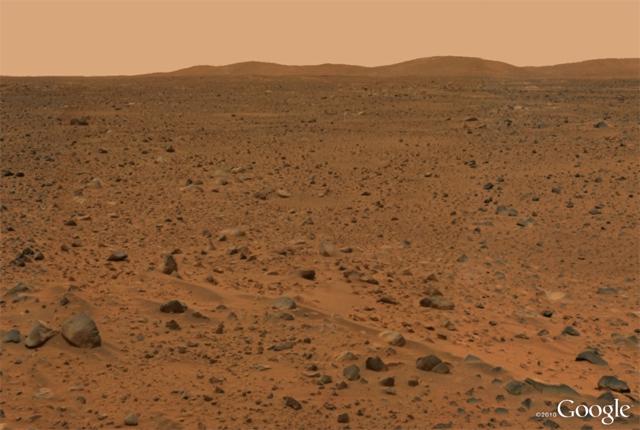 جوجل المريخ – Google Mars