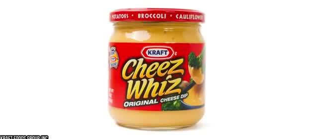10 JUNK FOOD THAT'S ACTUALLY GOOD FOR YOU 10. Cheese Whiz