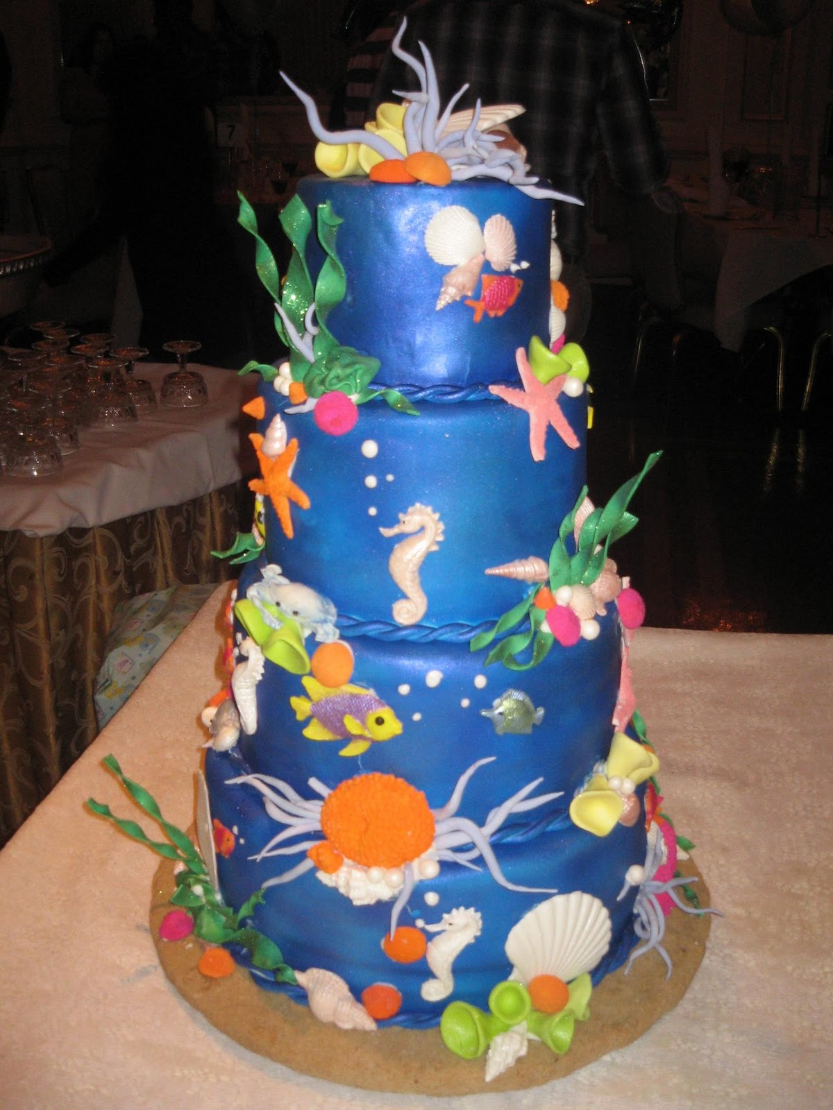 The Sweet Escape Blog Under The Sea Baby Shower Cake