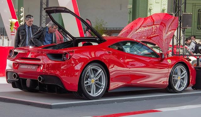 La fantastique Ferrari 488 GTB