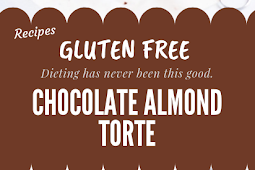 Gluten free Chocolate Almond Torte #glutenfree