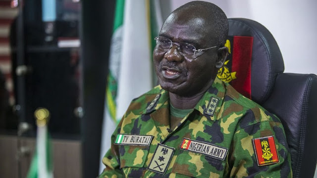 'No One Was Killed At Lekki Toll Gate' - Army Chief Of Staff, Burutai Insists