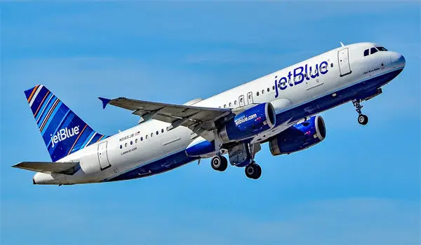 2. JetBlue Airlines in the US